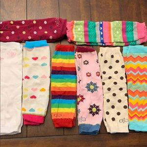 BL leg warmers OS set of 8 pairs
